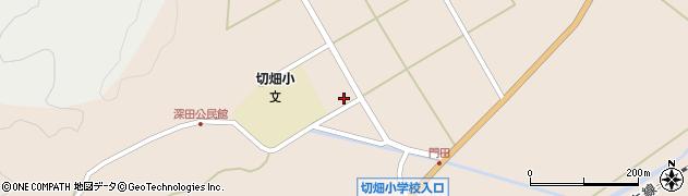 大分県佐伯市弥生大字門田1335周辺の地図