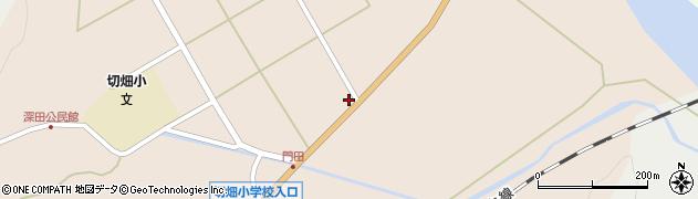 大分県佐伯市弥生大字門田1267周辺の地図