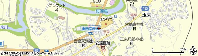 大分県竹田市玉来715周辺の地図