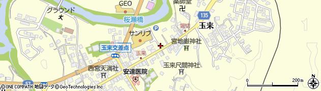 大分県竹田市玉来927周辺の地図