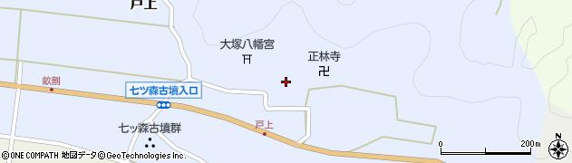 大分県竹田市戸上695周辺の地図