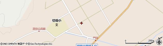大分県佐伯市弥生大字門田1313周辺の地図