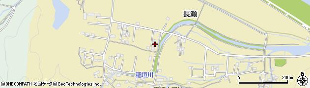 大分県佐伯市稲垣1416周辺の地図