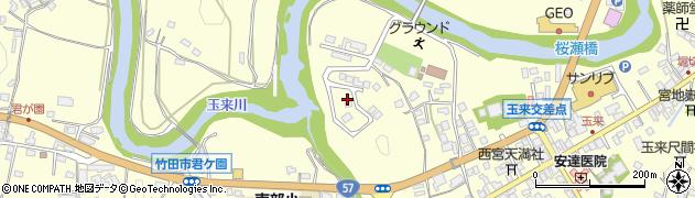 大分県竹田市玉来826周辺の地図