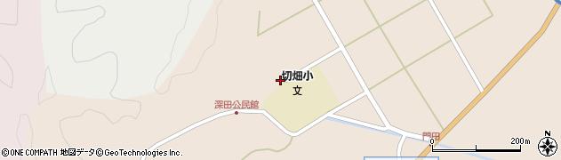 大分県佐伯市弥生大字門田1718周辺の地図