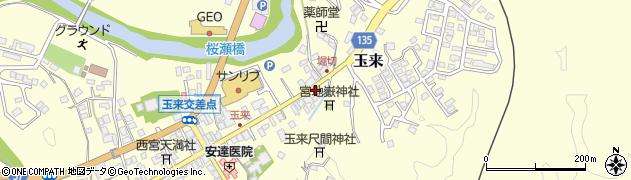 大分県竹田市玉来942周辺の地図
