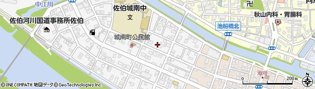 大分県佐伯市城南町13周辺の地図