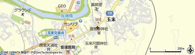 大分県竹田市玉来941周辺の地図