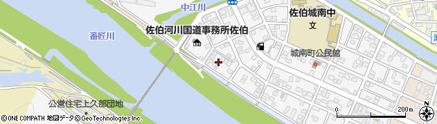 大分県佐伯市城南町22周辺の地図