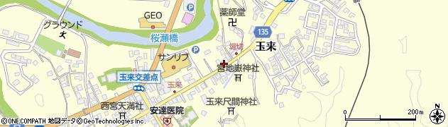 大分県竹田市玉来939周辺の地図