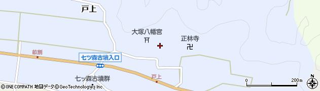 大分県竹田市戸上859周辺の地図