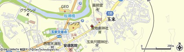 大分県竹田市玉来938周辺の地図
