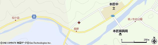 大分県佐伯市本匠大字笠掛1637周辺の地図