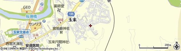 大分県竹田市玉来554周辺の地図