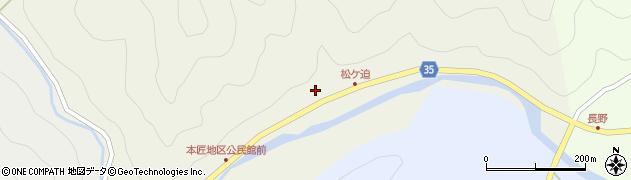 大分県佐伯市本匠大字宇津々2028周辺の地図
