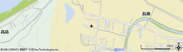 大分県佐伯市稲垣周辺の地図