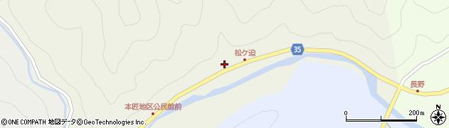 大分県佐伯市本匠大字宇津々2049周辺の地図