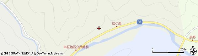 大分県佐伯市本匠大字宇津々2030周辺の地図