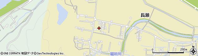 大分県佐伯市稲垣1438-7周辺の地図