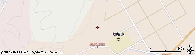大分県佐伯市弥生大字門田1691周辺の地図