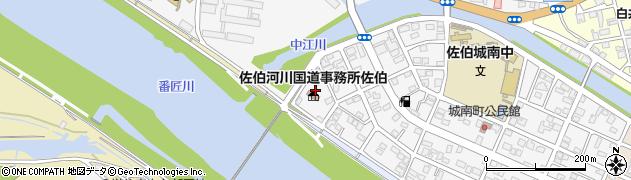 大分県佐伯市城南町31周辺の地図