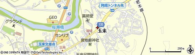 大分県竹田市玉来687周辺の地図