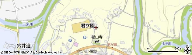 大分県竹田市君ケ園429周辺の地図