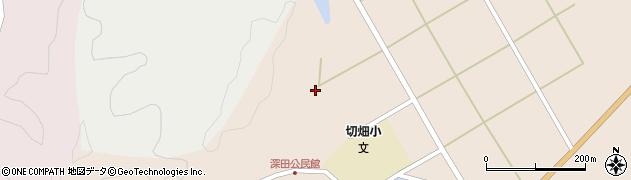 大分県佐伯市弥生大字門田1658周辺の地図