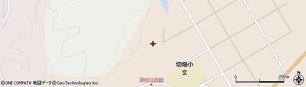 大分県佐伯市弥生大字門田1687周辺の地図