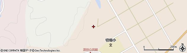 大分県佐伯市弥生大字門田1685周辺の地図