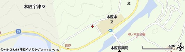 大分県佐伯市本匠大字笠掛1570周辺の地図