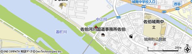 大分県佐伯市城南町32周辺の地図