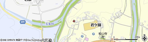 大分県竹田市君ケ園550周辺の地図