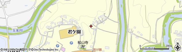 大分県竹田市君ケ園319周辺の地図