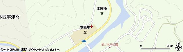 大分県佐伯市本匠大字笠掛1426周辺の地図
