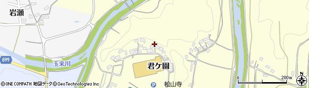 大分県竹田市君ケ園448周辺の地図