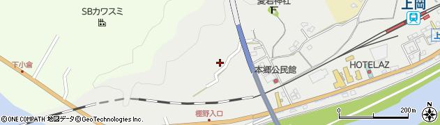 大分県佐伯市上岡1654周辺の地図