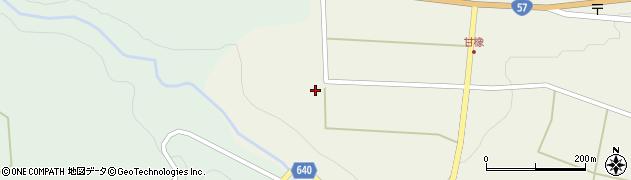 大分県竹田市菅生224周辺の地図