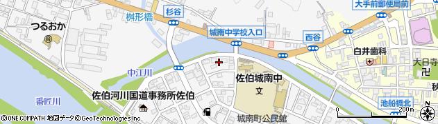 大分県佐伯市城南町27周辺の地図