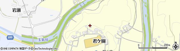 大分県竹田市君ケ園478周辺の地図
