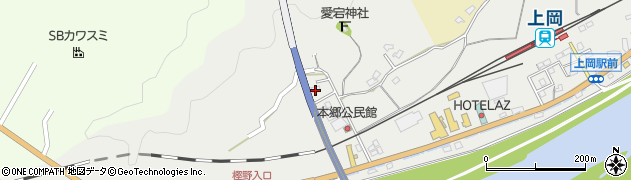 大分県佐伯市上岡1675周辺の地図