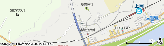 大分県佐伯市上岡1675-3周辺の地図
