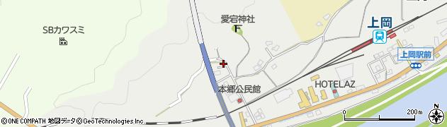 大分県佐伯市上岡1677周辺の地図