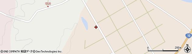 大分県佐伯市弥生大字門田1522周辺の地図