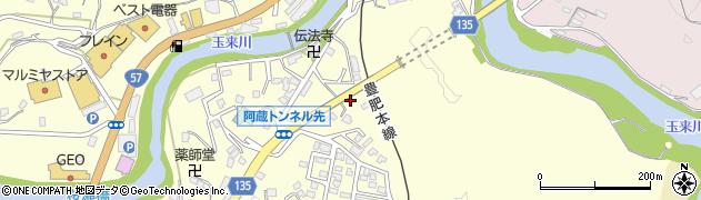 大分県竹田市玉来626周辺の地図