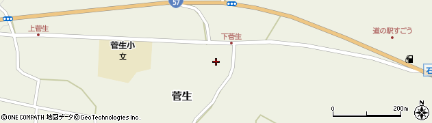 大分県竹田市菅生511周辺の地図