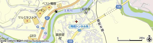 大分県竹田市玉来636周辺の地図