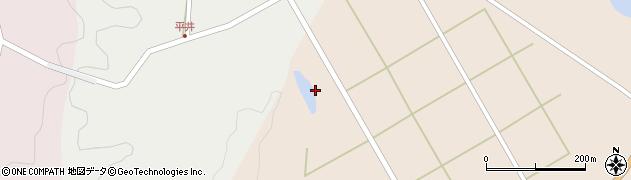 大分県佐伯市弥生大字門田1732周辺の地図