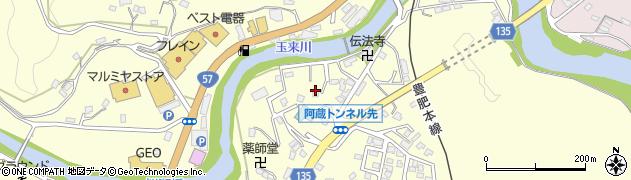 大分県竹田市玉来644周辺の地図