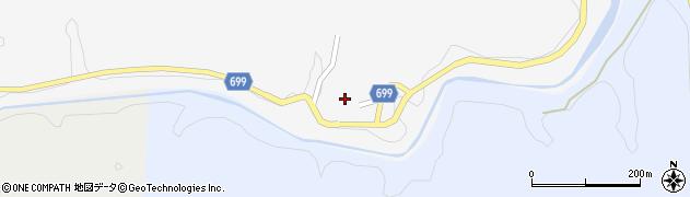 大分県竹田市岩瀬727周辺の地図